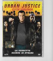 DVD URBAN JUSTICE CITTA' VIOLENTA STEVEN SEAGAL EDDIE GRIFFIN
