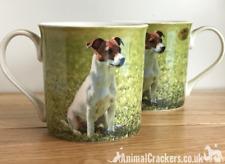 Jack Russell Terrier lover china mug all round print Leonardo range gift boxed