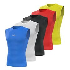 FDX Mens Sleeveless Cool Mesh Base Layer Lightweight Running fitness Cycling Top