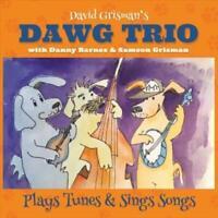 DAVID / BARNES,DANNY / GRISMAN,SAM GRISMAN - DAWG TRIO NEW CD