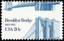 2041, 20¢ Brooklyn Bridge Scarce Misperforation ERROR Mint NH - Stuart Katz
