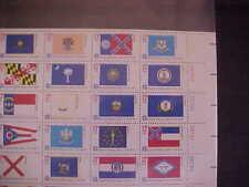 1633-82 American Bicentennial Flags Sheet Of 50