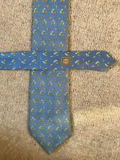 Corbata Estampado Azul Pálido LOEWE