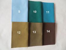 Stoff Baumwolle Reparatur Flicken 15 x 20 cm zum Aufbügeln  , 14 Farben