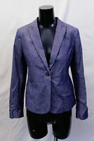 Banana Republic Women's L/S Classic Fit Chambray Blazer AN3 Blue Size 4 NWT