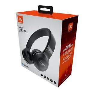 New JBL E45BT On Ear Wireless Signature Sound Headphones Bluetooth Black