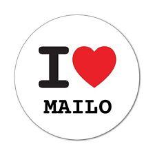 I Love MAILO-Adesivo Sticker Decal - 6cm