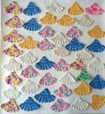 Lot of 44 Vintage Hand Crocheted Inserts Motifs Edging Bell Shape Applique Dolls