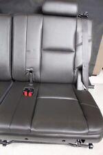 2007-2014 07-14 3rd Third Row Seat BLACK Leather Ebony Tahoe Yukon Suburban