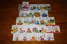 Disney Baby Einstein Learning Library board books & dvds videos Huge Lot
