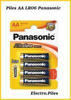 Piles batons AA LR06 de marque Panasonic, expédition rapide et gratuite !