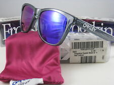 Oakley FROGSKINS Limited Edition Crystal Black w/+Red Iridium  24-304 Retro