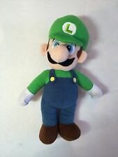 "Super Mario Bros Luigi 12"" inches Plush - Licensed Product"