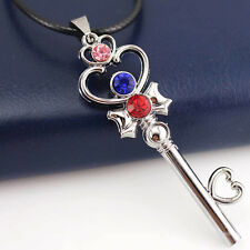 Anime Sailor Moon Chibi Usa Alloy Key Pendant Necklace Boy Girl Cosplay Gift New