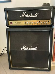 Marshall Lead 100 Mosfet (3210) head + cabinet