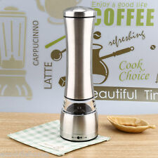 Manual Salt Pepper Seasoning Mill Grinder Cooking Tools Kitchen Stainless Steel