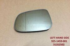 WING DOOR MIRROR GLASS HEATED LEFT LH - VOLVO S40 S60 S80 MK2 II V60 V70 MK3 III