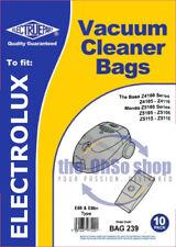 10x Dust Bags Vacuum Cleaner, Type: E66/E66N, To Fit Tornado 4110, Tornado 5120
