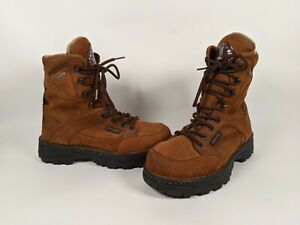 Browning Outland 8 inch Leather Gore-tex Hiking Hunting Insulated Boots Mens 8.5