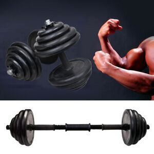 30Kg Dumbells Pair of Gym Body Weights Barbell/Dumbbell Building Free Weight Set
