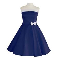Vestiti da donna blu cotone l