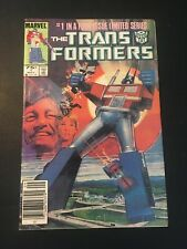 TRANSFORMERS #1 1984 MARVEL 1ST APP OF THE AUTOBOTS THE DECEPTICONS FN-!!!