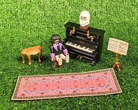 Playmobil 5551 Musical Piano Set for Victorian Mansion Vintage Rare