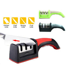 Hard Carbide Ceramic Sharpening Stone Household Knife Sharpener with 3 Stages