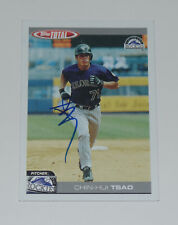 CHIN HUI TSAO SIGNED AUTO'D 2004 TOPPS TOTAL CARD #636 COLORADO ROCKIES DODGERS
