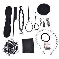 1 Set Hair Styling Accessories Tools Kit Hair Makeup Tool Kits Hair Braid RS