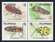 Philippines 2677ad-2678ad,2677e-2678e,MNH. Beetles,2000.Green Jule,Ladybirds