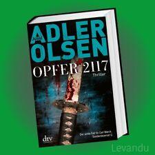 OPFER 2117 | JUSSI ADLER-OLSEN | Thriller Band 8 - Der achte Fall für Carl Mørck