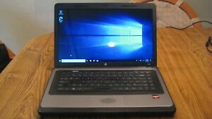 HP 2000 Vision Laptop AMD-C50 - 4GB RAM, 320GB HD, Windows 10, Power Pack