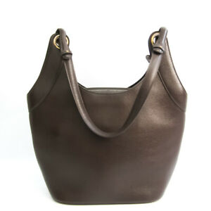 Delvaux Women's Leather Tote Bag Dark Brown BF533129