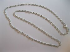 """3mm Silver plated fashion necklace chain 20"""""""