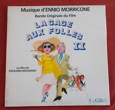 LA CAGE AUX FOLLES II LP ORIG FR BOF OST  ENNIO MORRICONE