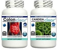 Colon Candida Cleanse Pills Yeast Balance Fungus Detox Thrush Digestive Support
