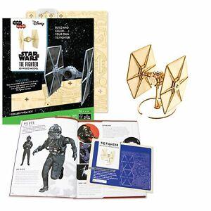 Star Wars 3D Laser Cut Jigsaw Wooden Puzzle TIE Fighter Model + Deluxe Booklet