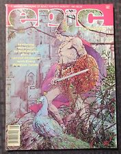 1981 EPIC Illustrated - Marvel Magazine v.1 #7 FVF 7.0 Barry Smith - Neal Adams