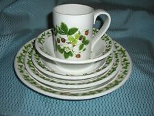 PORTMEIRION SUMMER STRAWBERRIES 5 PC PLACE SETTINGS - FIVE AVAILABLE