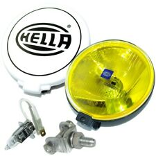 Hella Comet 500 Driving Lamp Yellow Spot Light With Cover Universal Fit GEc