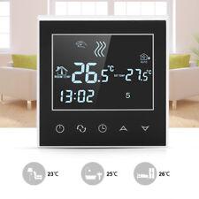 WIRELESS WIFI PROGRAMMABILE TERMOSTATO CRONOTERMOSTATO LCD TOUCH SCREEN