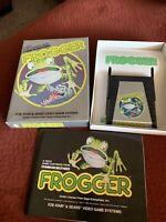 FROGGER BY PARKER BROS. - ATARI 2600 ** COMPLETE IN BOX (CIB) ** 1982