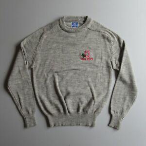 Vintage Champion Logo Sweater Pullover Ohio State M