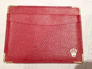 ROLEX Credit Card Wallet 0101.60.55