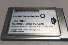 Lucent Technologies Partner Remote Access PC CARD Used, See Photos