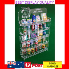 DIY Personalised miniature display shelve Case for COLES RARE Little Mini Shop 2
