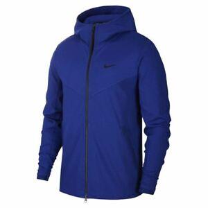 Nike Sportswear Tech Pack Full Zip Hoodie BV4489 455 Blue Size M, L, XL, 2XL