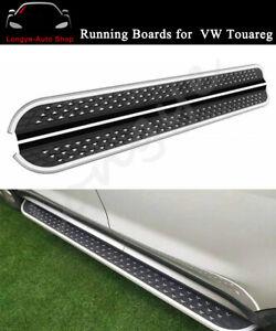 Fits for VW Volkswagen Touareg 2019 2020 Door Side Step Running Board Nerf Bar