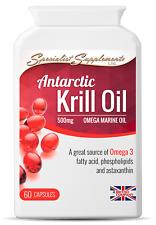 Antarctic Krill Oil for Heart, Blood Pressure and Brain Functi
